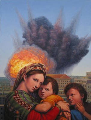 Explosion Original Artwork