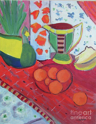 Liberty Dickinson: Oranges Art