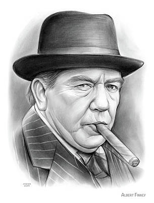 Designs Similar to Albert Finney by Greg Joens