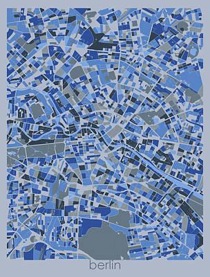 Designs Similar to Berlin Map Retro 5 by Bekim M