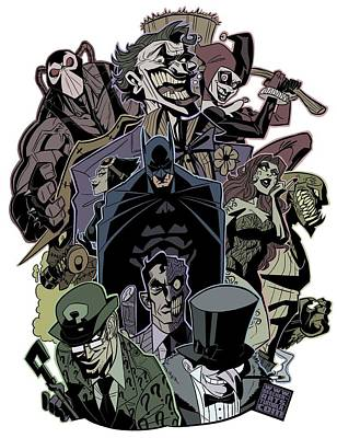 Designs Similar to Dc Batman by Geek N Rock