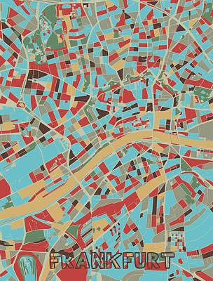 Designs Similar to Frankfurt Map Retro 3