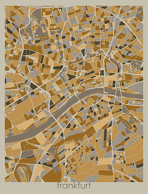 Designs Similar to Frankfurt Map Retro 4