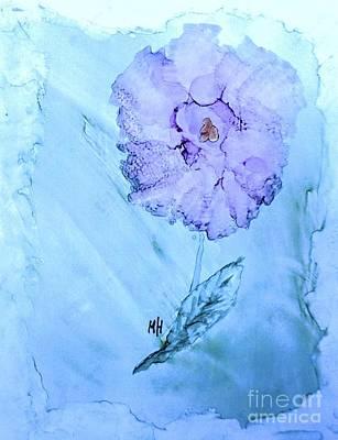 Designs Similar to Purple Rose On Blue
