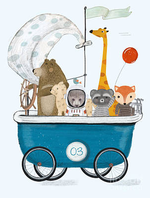 Designs Similar to The Bath Cart by Bri Buckley