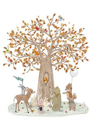 Designs Similar to The Little Oak Tree
