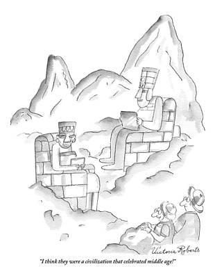 Mayan Drawings