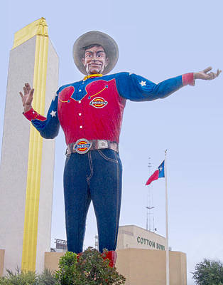 Designs Similar to Big Tex And The Cotton Bowl