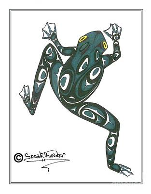 Pacific Tree Frog Drawings Prints