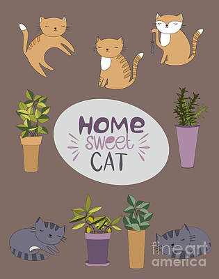 Designs Similar to Home Sweet Cat by Mio Buono