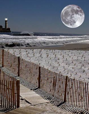 Jersey Shore Digital Art Original Artwork