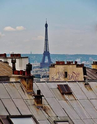 Rooftop Photographs Original Artwork