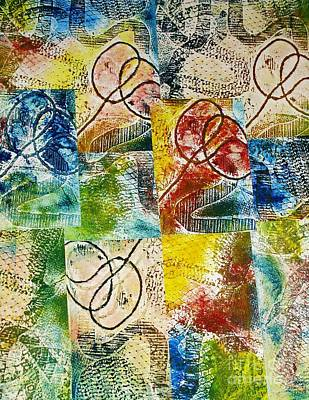 Abstractive Reliefs Prints