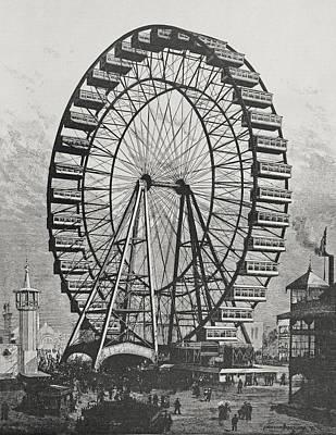 Ferris Wheel Drawings