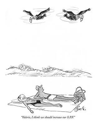 Beach Towel Drawings Prints