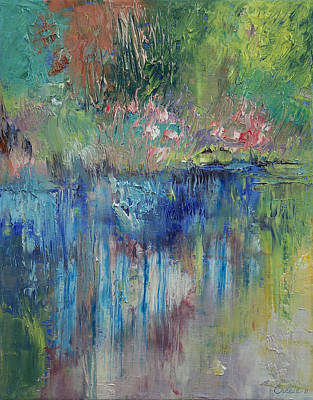 Expressionist Creek Oil Paintings