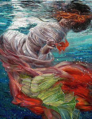 Colored Glass Paintings Original Artwork