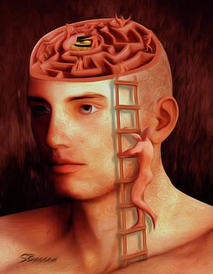 Brain Freeze Paintings