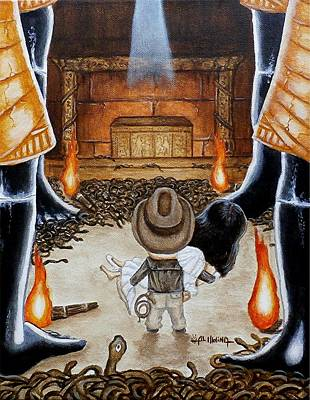 Raiders Of The Lost Ark Original Artwork