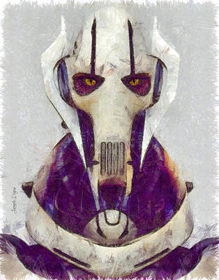 General Grievous Digital Art