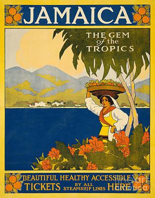 Designs Similar to Jamaica  Vintage Travel Poster