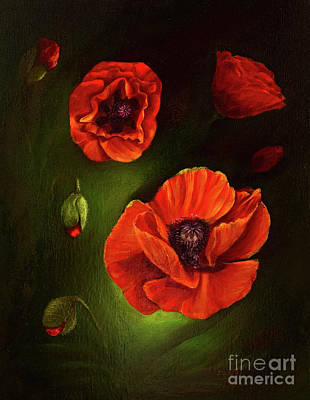 Designs Similar to Poppies by Zina Stromberg