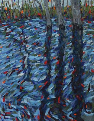 Spring Floods Original Artwork