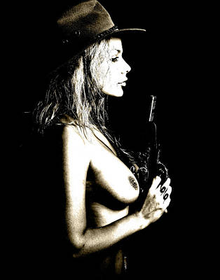 Nude Cowgirl Photographs