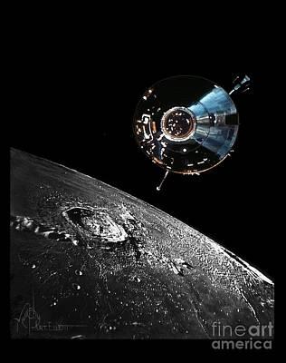 Apollo Mission Original Artwork