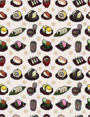 Designs Similar to Seamless Japanese Food Pattern