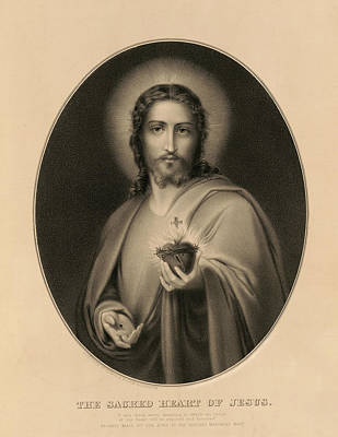 Designs Similar to The Sacred Heart Of Jesus, 1850