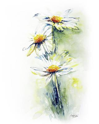 Yellow Flower Original Artwork