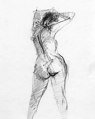 Conte Drawings Prints