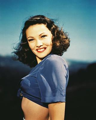 Designs Similar to Gene Tierney by Silver Screen