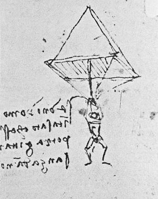 Designs Similar to Da Vinci's Parachute