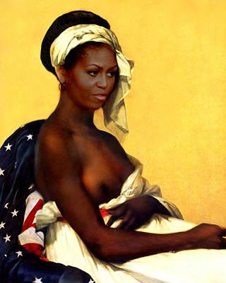 Michelle Obama Nude Art
