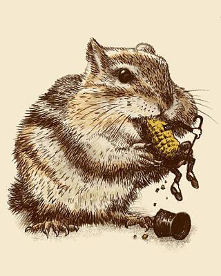 Chipmunks Art Prints