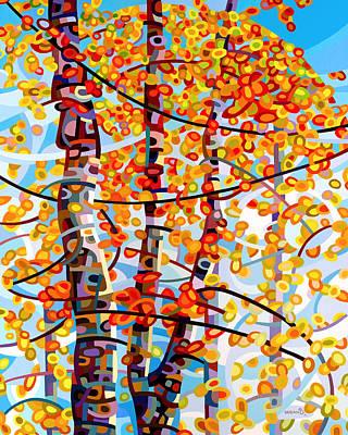 Maple Trees Original Artwork