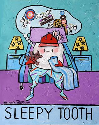 Sleepy Digital Art Prints