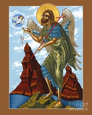 St John The Baptist Original Artwork