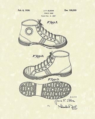Tennis Shoes Drawings