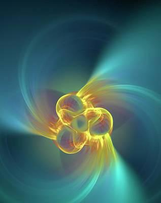 Alpha Particle Photographs