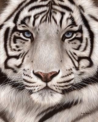 Designs Similar to White Tiger Painting