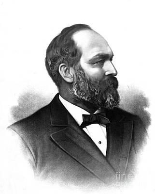 James Abeam Garfield Prints