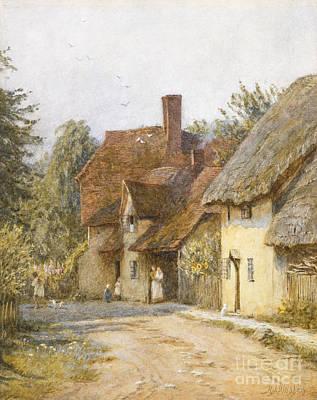 England Town Prints