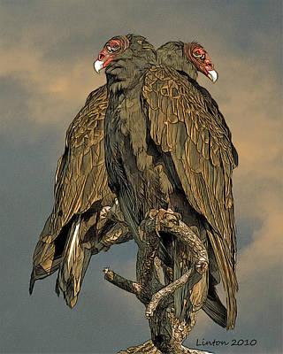 Vulture Digital Art