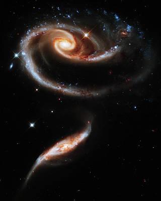 Interacting Galaxies Art