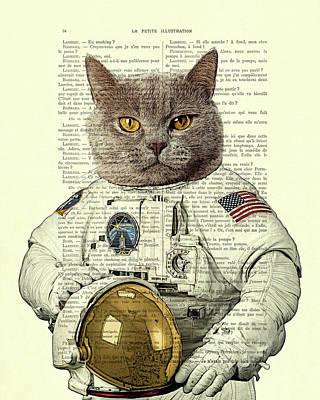 Designs Similar to Astronaut Cat Illustration