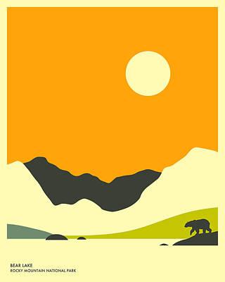 Rocky Mountain Digital Art