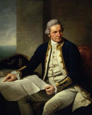 Designs Similar to Captain James Cook